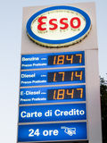 Esso Petrol Station in Rome Stock Photos