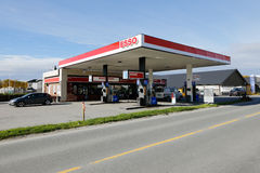 Esso service station royalty free stock image
