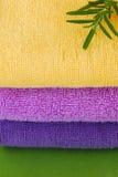 Essuie-main colorés Photographie stock