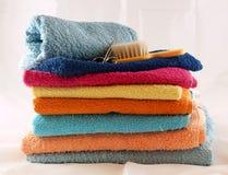 Essuie-main colorés Photo stock