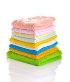 essuie-main colorés Photos libres de droits