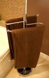 Essuie-main de salle de bains Image stock