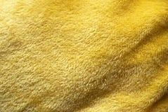 Essuie-main jaune Photographie stock libre de droits