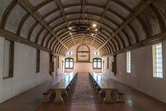 Esszimmer des Refektoriums im Kloster von Christus Convento De Cr lizenzfreies stockbild