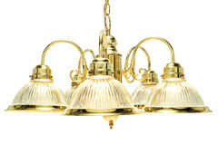 Esszimmer-Leuchter Stockfoto