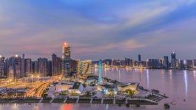 Está aqui o delta de Beichen em Changsha, Hunan foto de stock