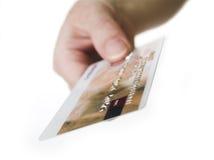 Está aqui seu cartão Fotografia de Stock