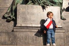 Está celebrando Día de la Independencia nacional una República de Polonia - un día festivo, celebrado cada año del año a partir d Imagen de archivo