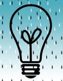 Está lloviendo efectivo ilustración del vector