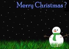 Está o Natal aqui? Imagens de Stock Royalty Free