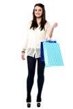 ¿Está usted listo para hacer compras? Fotografía de archivo libre de regalías