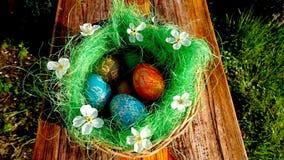 Está você pronto para a Páscoa esta vez? Fotos de Stock