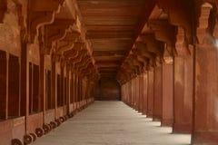 Estábulo do cavalo/elefante em Fatehpur Sikri foto de stock royalty free