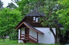 Estábulo na propriedade memorável na região de Tula, Rússia de Polenov Imagem de Stock Royalty Free