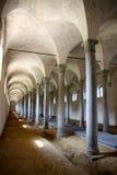Estábulos antigos no castelo Fotos de Stock