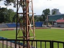 Estádio 'trator 'Minsk, Bielorrússia foto de stock