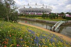 Estádio 2012 olímpico de Londres Imagem de Stock