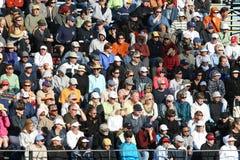Estádio aglomerado do tênis. Imagem de Stock