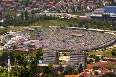 Estádio Asim Ferhatovic Imagem de Stock