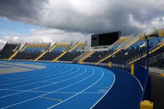 Estádio atlético Imagens de Stock