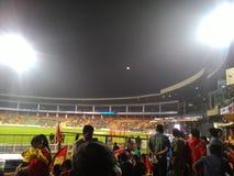 Estádio Bangalore do grilo fotos de stock royalty free