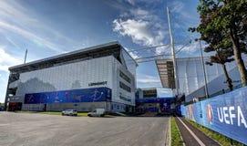 Estádio Bollaert-Delelis, lente, França Fotografia de Stock