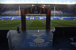 Estádio branco de Hart Lane - de Tottenham Hotspur Imagem de Stock