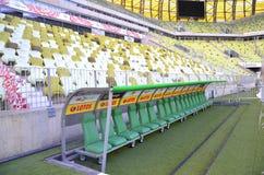 Estádio da arena de PGE em Gdansk, Poland Fotos de Stock Royalty Free