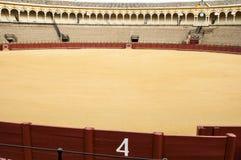 Estádio da tourada na Espanha fotografia de stock