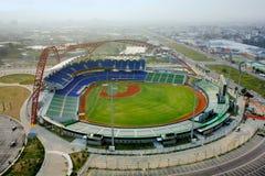 Estádio de basebol Fotografia de Stock Royalty Free