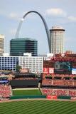 Estádio de Busch - cardeais de St Louis imagens de stock