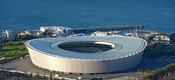 Estádio de Cape Town Fotografia de Stock