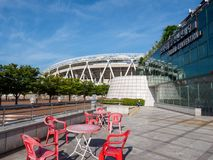 Estádio de Daegu, nomeado anteriormente Daegu World Cup Stadium Imagens de Stock