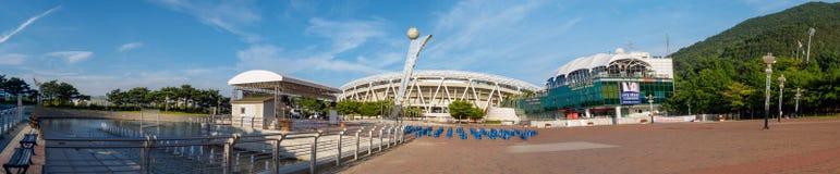 Estádio de Daegu, nomeado anteriormente Daegu World Cup Stadium Foto de Stock