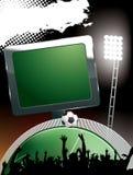 Estádio de futebol Ilustração Royalty Free
