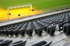 Estádio de futebol Fotografia de Stock Royalty Free