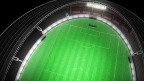 Estádio de futebol ilustração do vetor