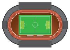 Estádio de futebol Foto de Stock