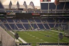 Estádio de futebol americano vazio Fotografia de Stock Royalty Free