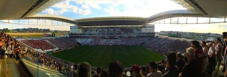 Estádio de futebol: Corinthians da arena foto de stock royalty free
