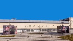 Estádio de futebol de Cracovia Imagem de Stock