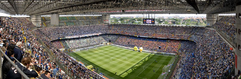 Estádio de futebol de Meazza Foto de Stock