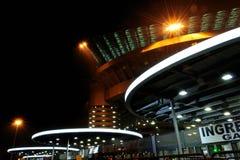 Estádio de futebol de San Siro em Milão, Italy Imagens de Stock