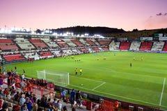 Estádio de futebol de Tarragona Fotos de Stock Royalty Free