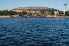 Estádio de futebol de Luzhniki imagens de stock