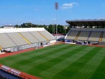 Estádio de futebol vazio foto de stock