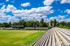Estádio de futebol velho imagens de stock royalty free