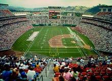 Estádio de Jack Murphy, San Diego, CA fotos de stock royalty free