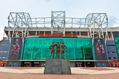 Estádio de Manchester United Imagens de Stock Royalty Free