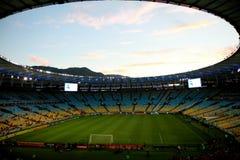Estádio de Maracana em Rio de Janeiro imagem de stock royalty free